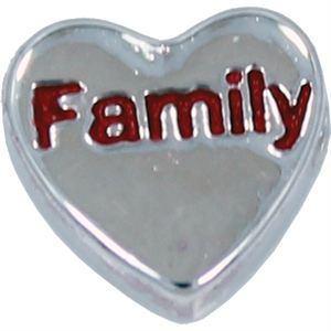 Picture of 'Family' Heart Charm